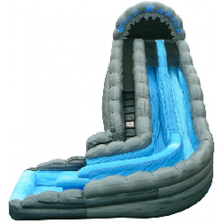 Wet Slide - 22' Wild Rapids w/Pool