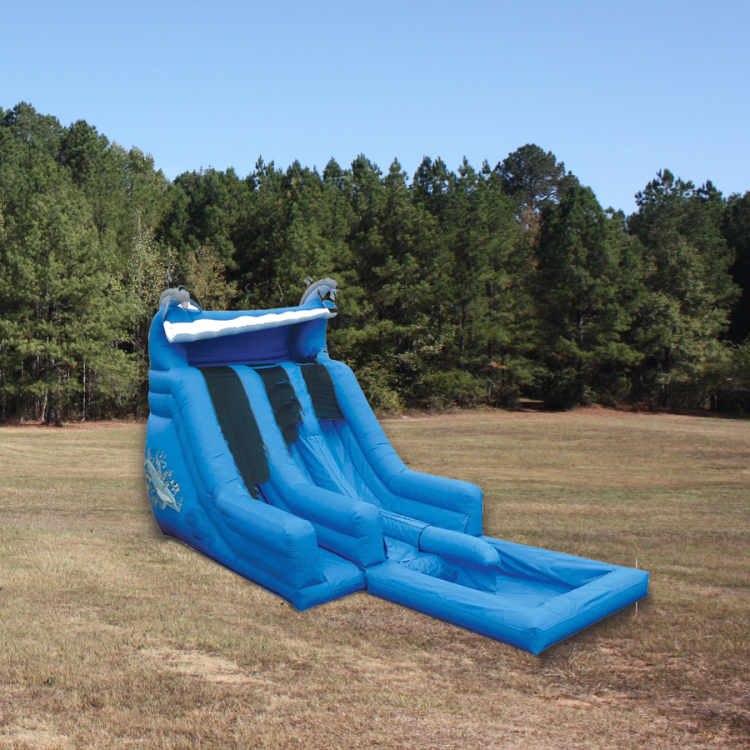 Slide - Dual Lane Super Splash w/ Pool (18' High)