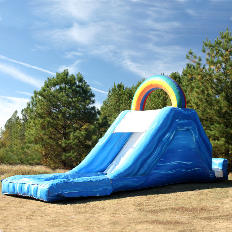 Wet Slide - Lil' Squirt Rainbow (12' High)