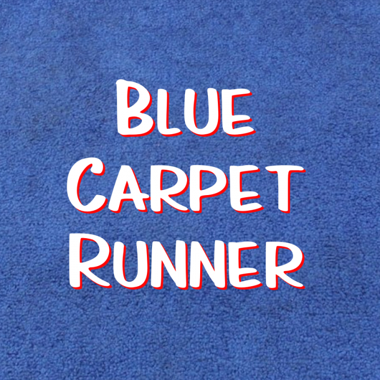 Carpet Runner - Blue
