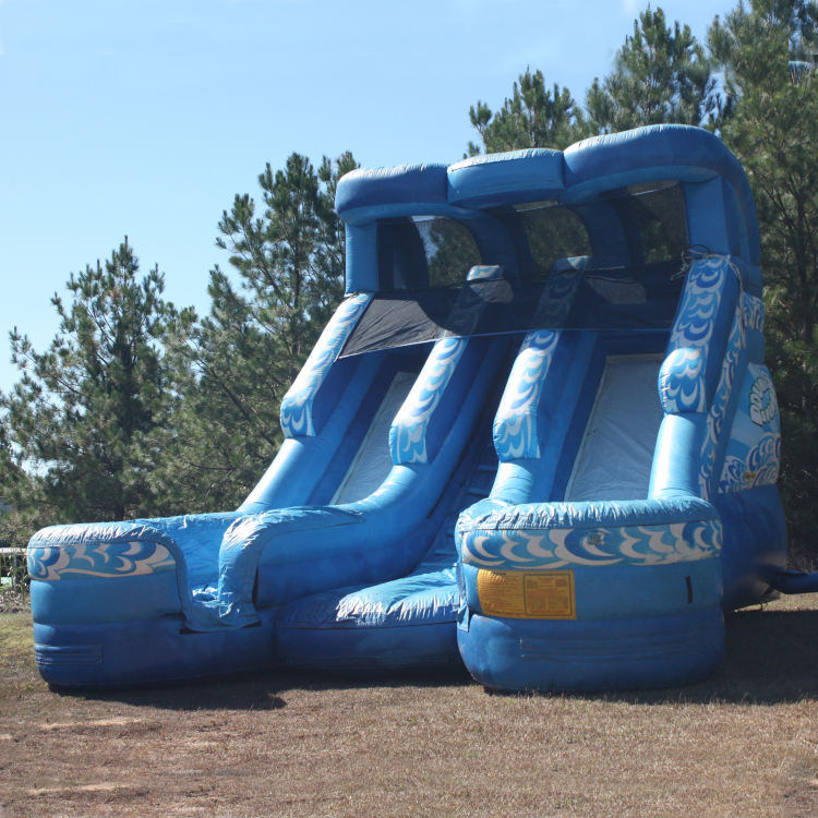 Wet Slide - Double Splash (18' High)