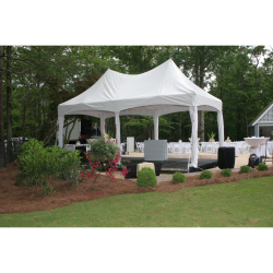 Tent Ceiling Swag & Cafe Lights (10x20)
